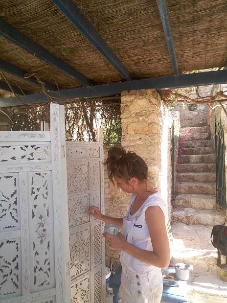 Restyling paravento originale Turco