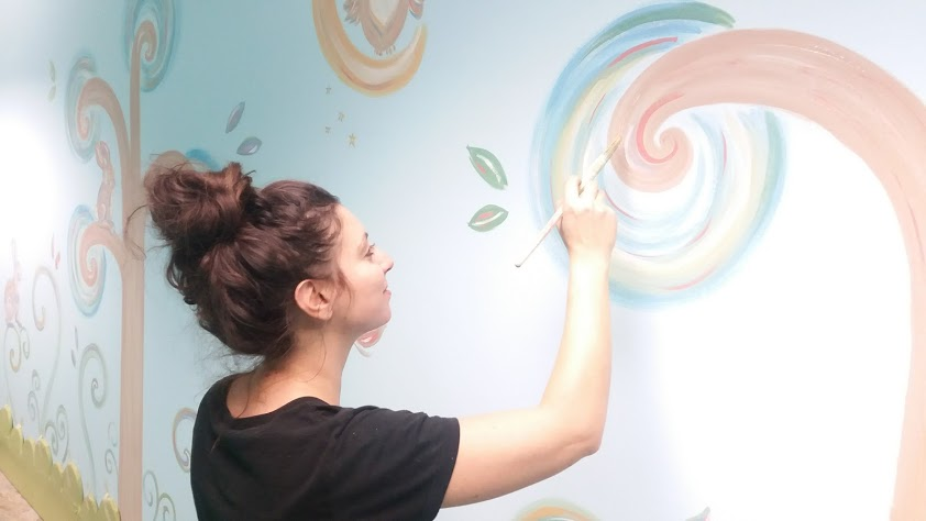 Decorazione murale Paintleaf