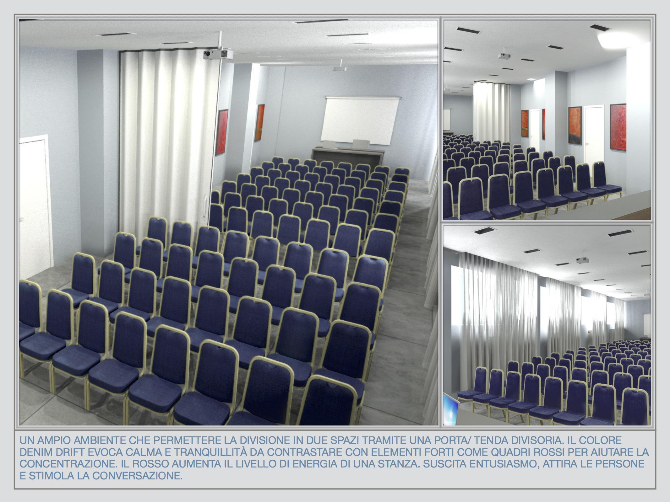 Studio sala conferenze