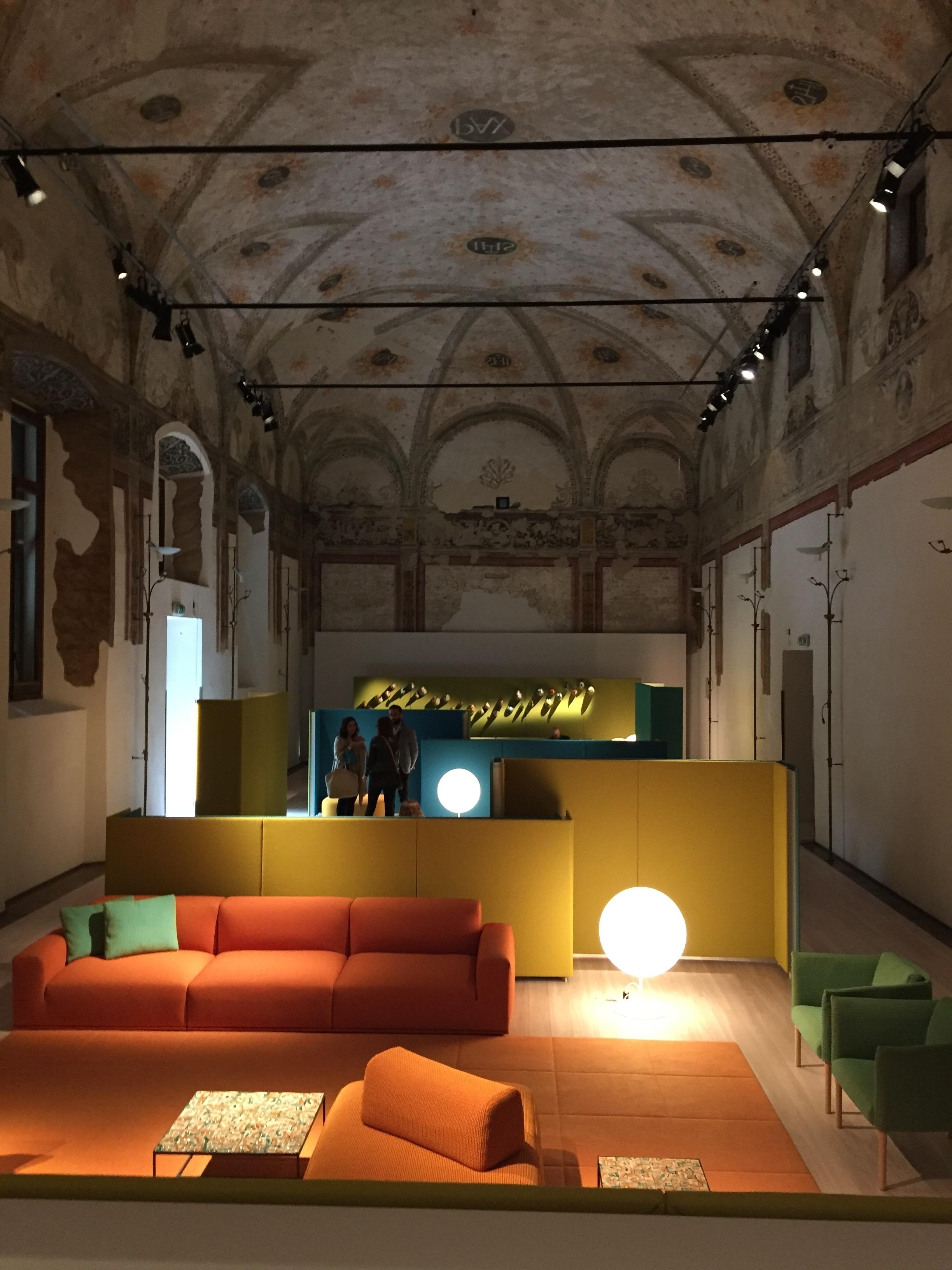 -Indagini diagnostiche su marmorini presso Salone degli Affreschi della Società Umanitaria,Via San Barnaba Milano.