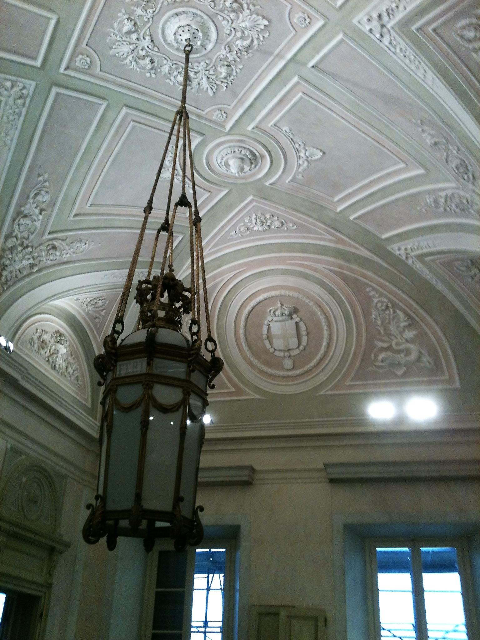 Restauro conservativo presso Villa Reale di Monza: