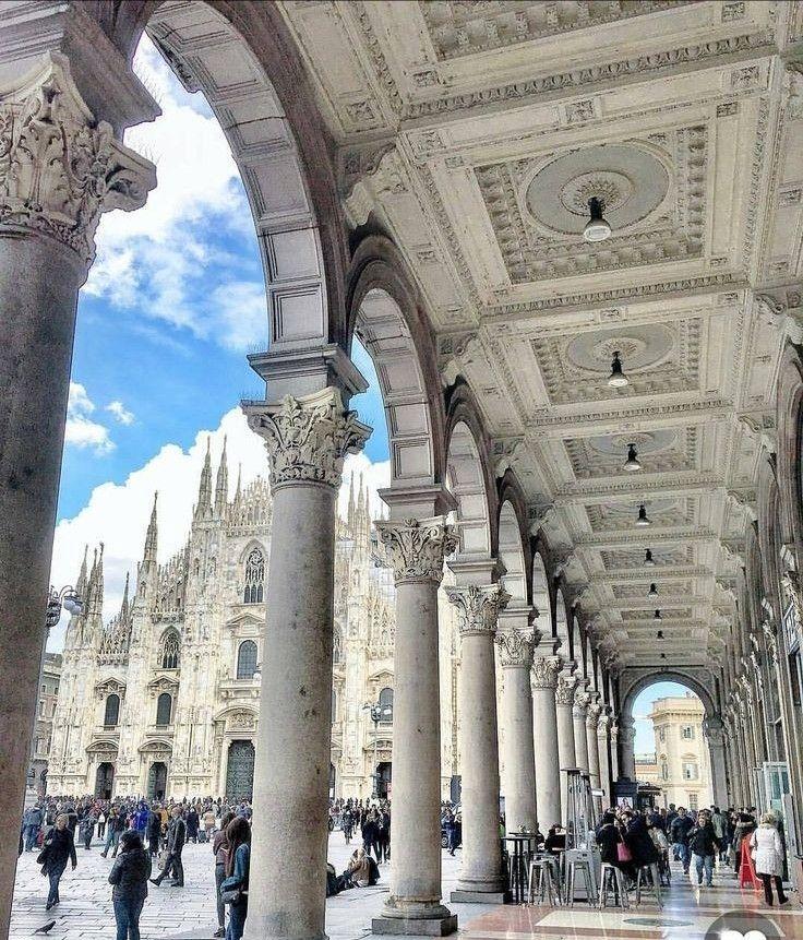Portici Galleria Vittorio Emanuele (MI)